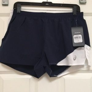 ASICS Athletic Shorts, Size L, NWT!